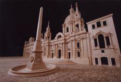 Palazzo Pamphili & Sant'Agnese in Piazza Navona, as Borromini planned