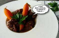 Un bon boeuf-carottes mitonné aux petits oignons.