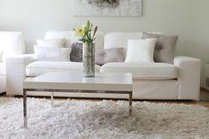 Coconut White: Valkoinen olohuone