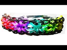 Teaching you how to make a rainbow loom starburst bracelet step by step! Rainbow Looms are so popular with kids they are constantly sold out. This video show...