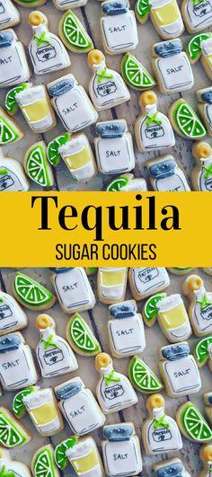 Mini tequila shot cookies #affiliate