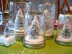 This is such a cute DIY. All you need is a mason jar, a small, fake Christmas tree, and fake snow. Simply glue the tree onto the lid, pour a little of the snow into the jar, put the lid back on and flip upside down!!! Simple, affordable,christmas gift.