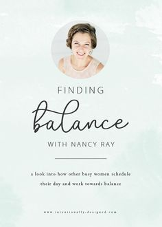 Last year, I wrote a post about how I schedule my work weekand how I get  it all done as a stay at home mom of a toddler and business owner of a  growing, thriving business. The response was overwhelming, and I quickly  realized how many of you needed guidance for creating your own schedule and  finding balance between work and life.