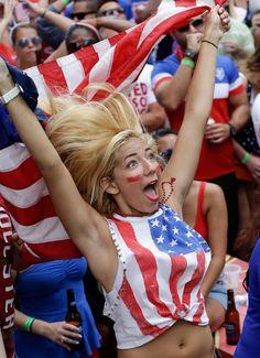 USA fan