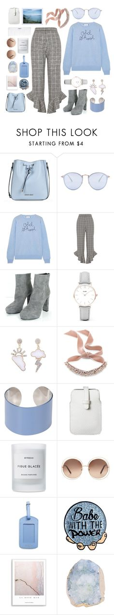"""""""see the colour of your eyes."""" by transitionmetals ❤ liked on Polyvore featuring Armani Jeans, Ray-Ban, Lingua Franca, River Island, Prada, CLUSE, Fallon, Maison Margiela, Polaroid and Mossimo"""