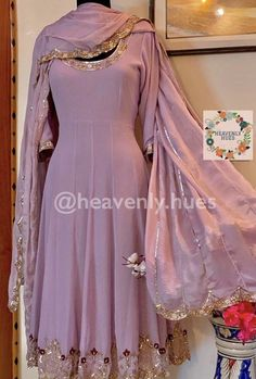 Pakistani Dress Design, Pakistani Dresses, Indian Dresses, Fancy Dress Design, Stylish Dress Designs, Designer Party Wear Dresses, Designer Anarkali Dresses, Silk Anarkali Suits, Embroidery Suits Design
