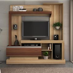 This is a great design for making small LCD TV panels. Modern Tv Room, Modern Tv Wall Units, Tv Unit Decor, Tv Wall Decor, Tv Unit Furniture Design, Home Decor Furniture, Muebles Rack Tv, Lcd Panel Design, Tv Wanddekor