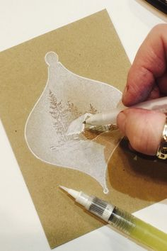 A quick walk through on creating the parchment effect. Christmas Cards 2018, Create Christmas Cards, Stamped Christmas Cards, Christmas Photo Cards, Handmade Christmas, Holiday Cards, Christmas Crafts, Christmas Baubles, Christmas Ideas