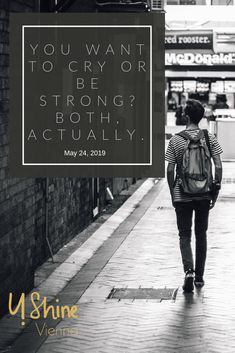 You wanna cry or be strong? Unrequited Love, Trauma, Our Life, Breakup, Crying, Anxiety, Self, Strong, How To Get