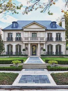 Classically designed French Manor house | WAV