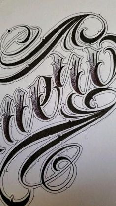 Calligraphy Tattoo Fonts, Tattoo Lettering Alphabet, Tattoo Lettering Design, Tattoo Fonts Cursive, Graffiti Lettering Fonts, Tattoo Script, Lettering Ideas, Script Lettering, Typography Poster