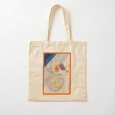 Sit poolside wherever you are • Millions of unique designs by independent artists. Find your thing. Printed Tote Bags, Cotton Tote Bags, Reusable Tote Bags, Shop Ideas, Bubble, Cotton Fabric, Scene, Artists, Digital