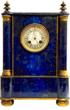 Lapis Mantel Clock