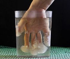 """Today I have for you a wonderful experiment """"hot ice"""". This experiment can be repeated by anyone! We need the vinegar and baking soda. Mix 1 kilogram of vinegar, 978 grams of baking soda and 200 grams of water. We can observe how carb. Science Projects For Kids, Stem Projects, Science For Kids, Science Activities, Activities For Kids, Science Crafts, Science Experience, Diy For Kids, Crafts For Kids"""