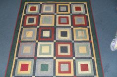 Square in a square quilt.