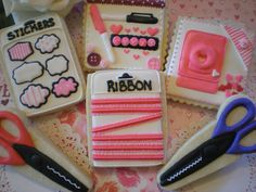 Scrapbooking cookies sugar by julie