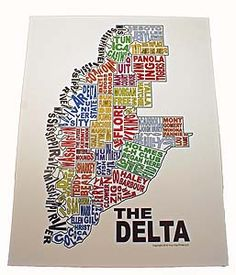 MS delta... Please note it doesn't include the valley!! (for all my friends who get confused and say I'm from the delta!)