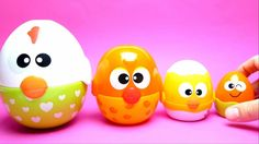 Angry Birds Surprise Eggs - Learning for Kids