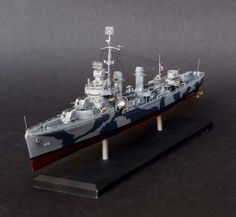 USS Livermore 1/350 Scale Model
