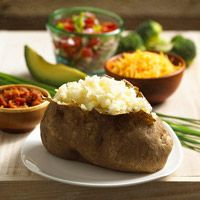 Quick & Healthy Baked Potatoes