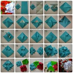 Paper Therapy: PHOTO-TUTORIAL - Modular Origami FRIENDSHIP - design Flaviane Koti - UPDATED