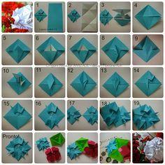 Terapia do Papel: FOTO-TUTORIAL - Origami Modular AMIZADE - design Flaviane Koti http://terapiadopapel.blogspot.com.br/2013/10/origami-modular-amizade-design-flaviane.html