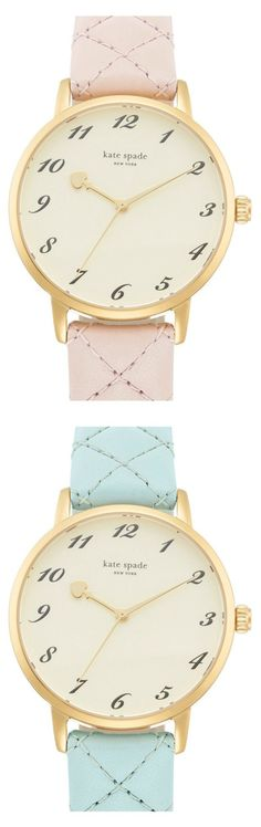 Pretty pastel Kate Spade watches.