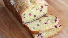 Pomegranate-Orange Quick Bread