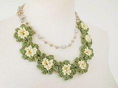 Spitze Schmuck (Spring Spring) Faser Art Halskette Anweisung Halskette