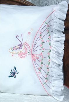 Pillowcases - Embroidery Patterns & Kits