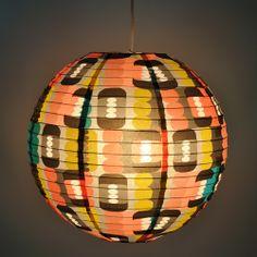 BlueQ Metropolis Paper Lantern - Design by inaluxe