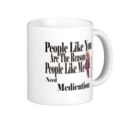 people like u coffee mug