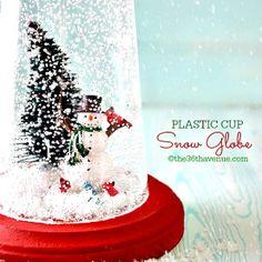 Snow Globe – Christmas Gift Idea