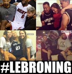 The newest phenomenon: #LeBroning! #MiamiHeat #MIAvsSA - http://nbafunnymeme.com/nba-memes/the-newest-phenomenon-lebroning-miamiheat-miavssa