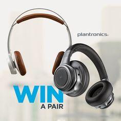 Win a Pair of Plantronics Headphones!