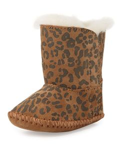 Infant Cassie Leopard-Print Boot, Chestnut Leopard - UGG