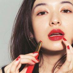 夏イガリメイク♡ #森絵梨佳#美人#可愛い#イガリシノブ#メイク#コスメ#透明感#美肌#美しい#レッド#イガリメイク#雑誌#voce#beauty#kawaii#cute#makeup#cosume#lovely#red