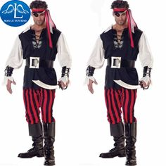 Click to Buy u003cu003c MANLUYUNXIAO New Halloween Men Caribbean Pirate Costume Adult Somali. u003eu003e  sc 1 st  Pinterest & Pin by MyMiracleMoments Photography on Somalian | Pinterest | Female ...