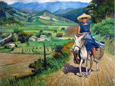 pintores dominicanos y sus obras - Vinicio Castillo