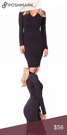 """🆕 Classic Mock Neck Midi Dress New Listing!  Great quality. Color: Black.  ✂️Material: will update  ❗️I DO reserve/hold items. Just ask, below, in the comment section.👇🏽  ⚪️Use the """"Buy Now"""" or """"Add to Bundle"""" button to purchase.  ⚪️MY PRICE IS FIRM. I DO NOT TRADE. I WILL NOT ACCEPT YOUR OFFER. Please respect my business. Thank you.❤️ Jaded Affairs Dresses Midi"""
