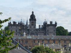 Was J K Rowling inspired to create hogwarts school of wizardry by this Edinburgh building? Edinburgh, Hogwarts, First Time, Harry Potter, Castle, Wanderlust, Fans, Walking, Cottage