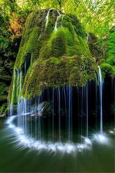 Bigar Cascade Falls in Nera Beusnita Gorges National Park, Romania. photo by porojnicu on Envato Elements Amazing Photography, Landscape Photography, Nature Photography, Cool Pictures Of Nature, Beautiful Pictures, Ed Wallpaper, Image Nature, Les Cascades, Paludarium