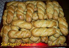 Ζαχαροπλαστική Πanos: Κουλουράκια Πασχαλινά Sausage, Cookies, Meat, Oreos, Food, Crack Crackers, Sausages, Biscuits, Essen