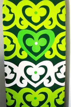 "Vintage Finnish Tampella fabric ""Takaportti"" Vintage Textiles, Vintage Patterns, Vibrant Colors, Colours, Retro Fabric, Vintage Crafts, Fabulous Fabrics, Repeating Patterns, Color Themes"