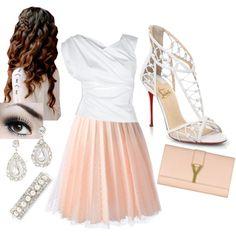 White & Powder Pink! ;)