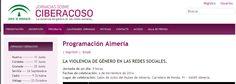 """Jornadas """"Violencia de género en las redes sociales"""" (Salón de actos del #MuseodeAlmería. 04/11/2014)"""