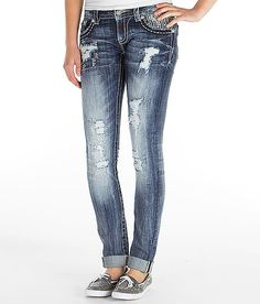 """Miss Me Cuffed Skinny Stretch Jean"" www.buckle.com"