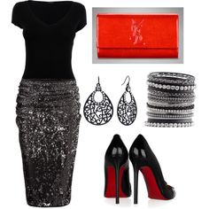 """""""date night""""- I honestly would never wear this on a date, I just think it would look awesome :)"""
