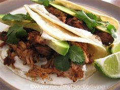 Carnitas (Pulled Pork Tacos) Recipe on Yummly