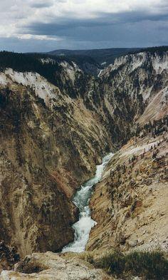 Yellowstone Canyon, Yellowstone NP, MT
